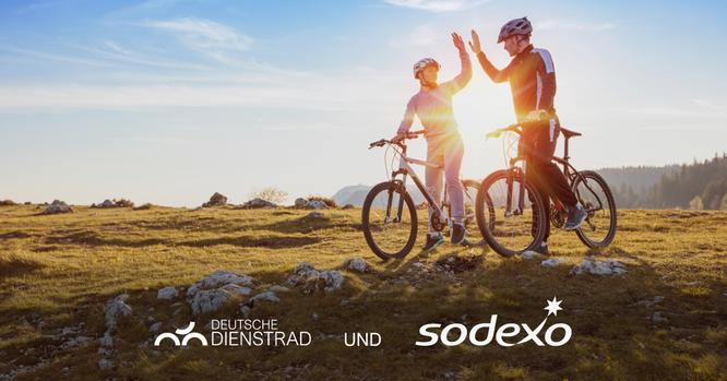 Deutsche Dienstrad weitet Sodexo sein Mobilitätsangebot für Unternehmen aus
