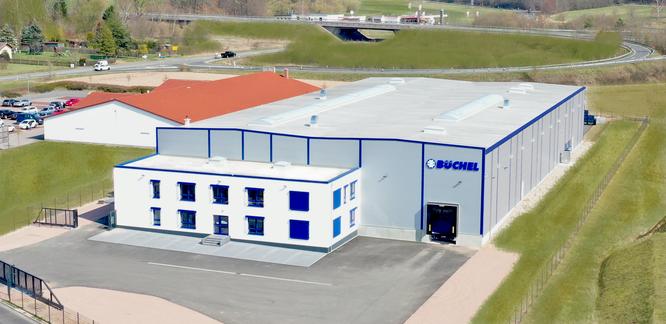 Firmengebäude Büchel Industrie