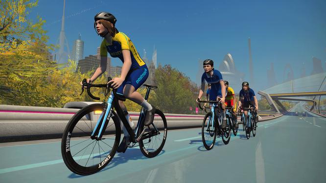 UCI CYCLING ESPORTS WORLD CHAMPIONSHIPS AM 26. FEBRUAR 2022