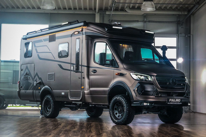 HYMER MLT 580 4x42 RSX in der ONE OF SEVEN Edition ©Storck