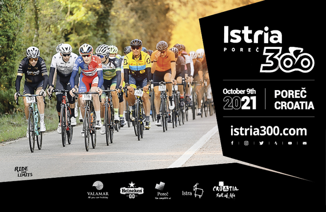 Für das größte kroatische Jedermann-Radrennen kommen Teilnehmer aus der gesamten Welt zur Premiere nach Istrien