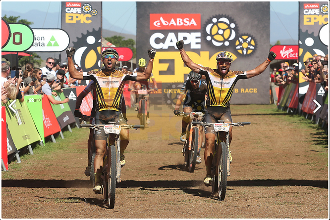 Photo by Shaun Roy/Cape Epic/SPORTZPICS