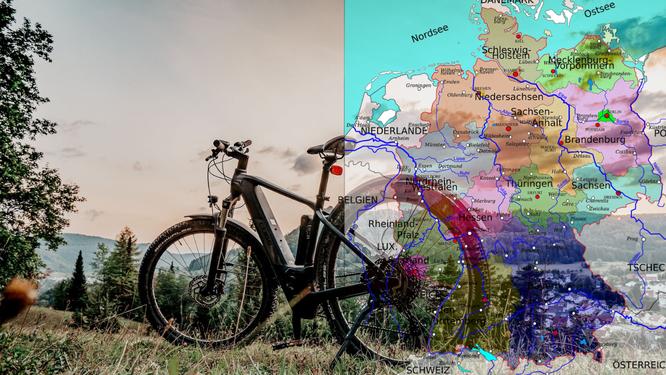 E-Bike-Boom: Niedersachsen, Rheinland-Pfalz und NRW führen in Ranking zur Elektrofahrrad-Nutzung