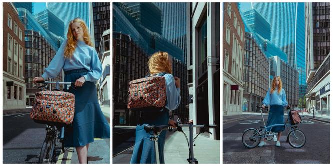 Brompton: Neue sommerliche Taschenkollektion Made with Liberty Fabric Metropolis