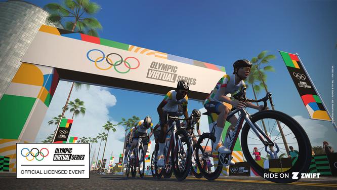 Die Registrierung für alle Olympic Virtual Series Radsport-Events ist ab sofort möglich.