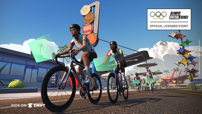 ZEITPLAN FÜR DIE OLYMPIC VIRTUAL SERIES CYCLING EVENTS VERÖFFENTLICHT