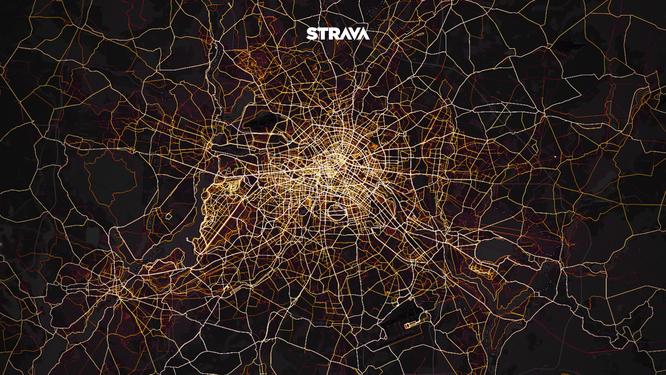 Strava-Community erstellt ultimative Landkarte von Spielplätzen für Sportler