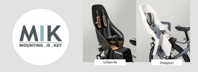 TÜV Rheinland zertifiziert MIK HD mit dem Urban Iki Kindersitz