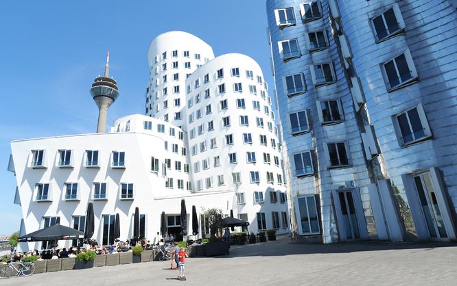 Gehrybauten Duesseldorf