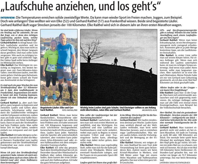 DIE RHEINPFALZ, Frankenthaler Zeitung, 03.04.2019