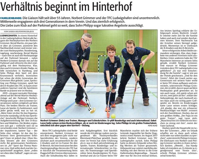 DIE RHEINPFALZ, Ludwigshafener Rundschau, 03.04.2019
