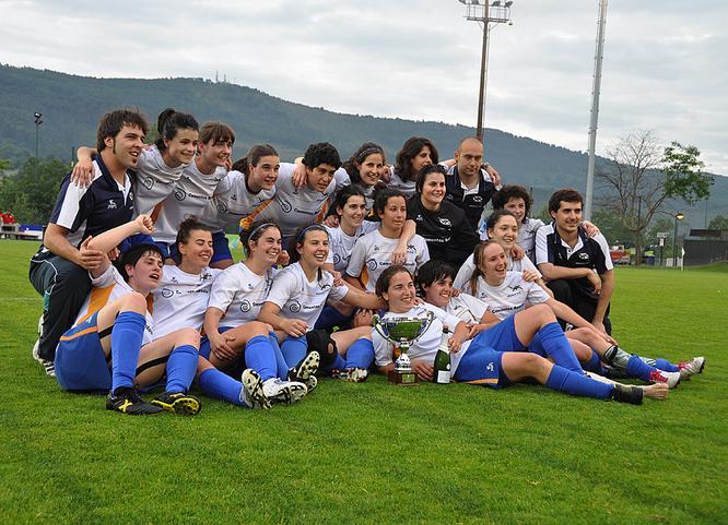 AÑORGA  Campeón 2012 - Foto: Mya