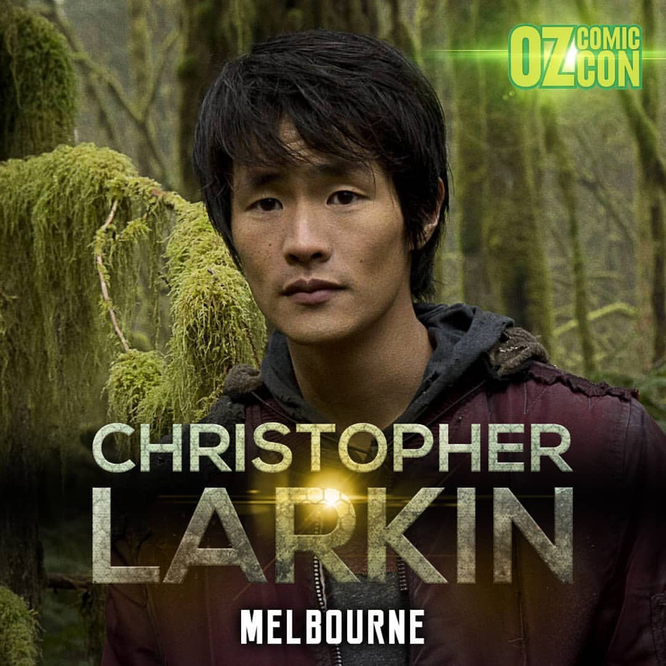 June 9-10, 2018 - Melbourne, Australia - Oz Comic Con - With Chris Larkin.