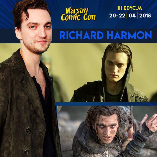 Apr 20-22, 2018 - Warsaw, Poland - Warsaw Comic Con - With Richard Harmon