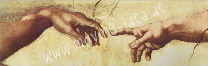 Michelangelo Motiv für Serviettentechnik im großen Format