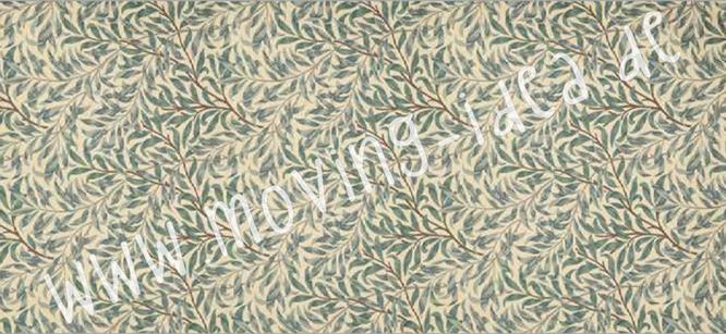 Blätterwald-Muster für Serviettentechnik im großen Format für Möbel und Wände