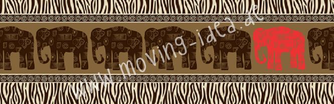 Indische Elefanten für Serviettentechnik und Decopatch im großen Format