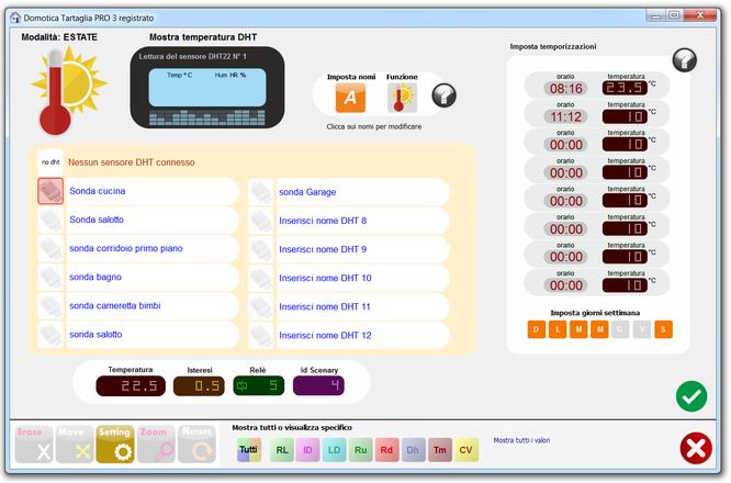 Schemi Elettrici Domotica : Schemi elettrici collegamento sensori temperatura dht