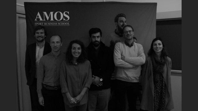 Photo des différents intervenants lors du masterclass AMOS le 16 octobre 2019