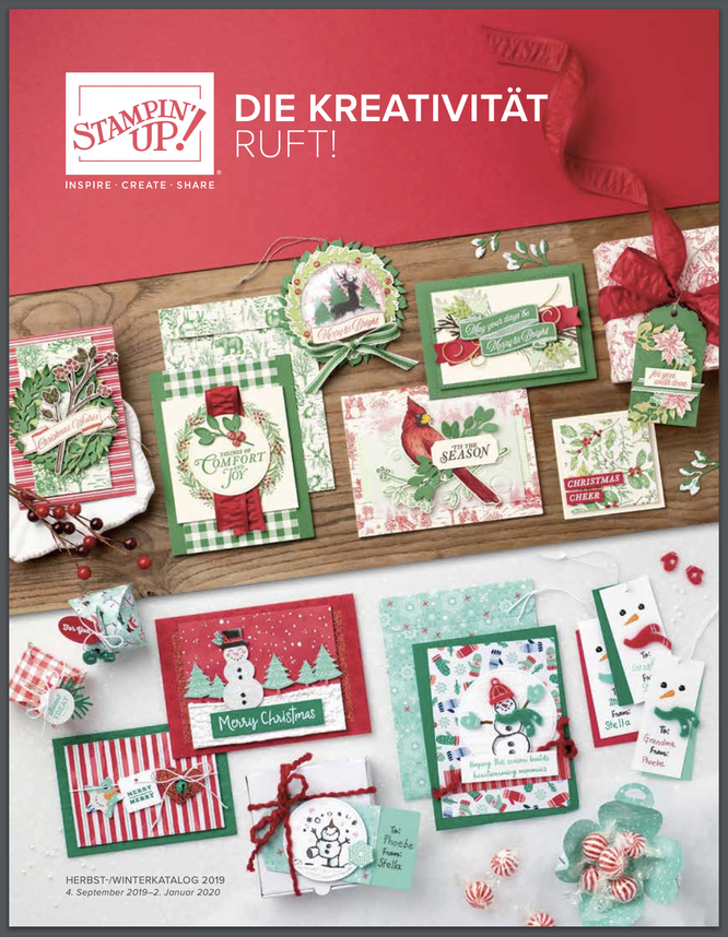 Herbst- Winterkatalog Stampin up 2019