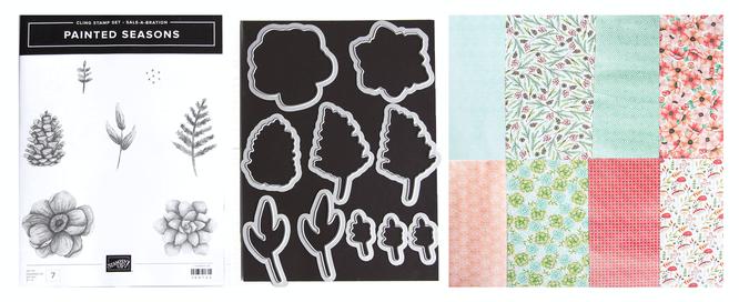 Stampin up-Painted Seasons
