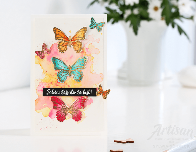 Schmetterlinge-Stampin up