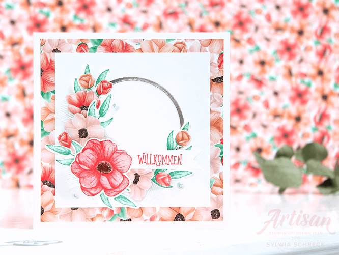 Stampin up-Painted Seasons-Karte-Sylwia Schreck
