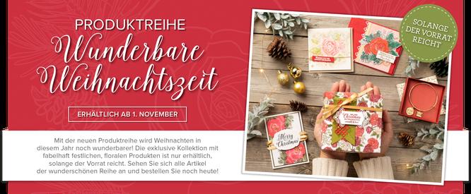 Produktreihe Wunderbare Weihnachtszeit-stampin up