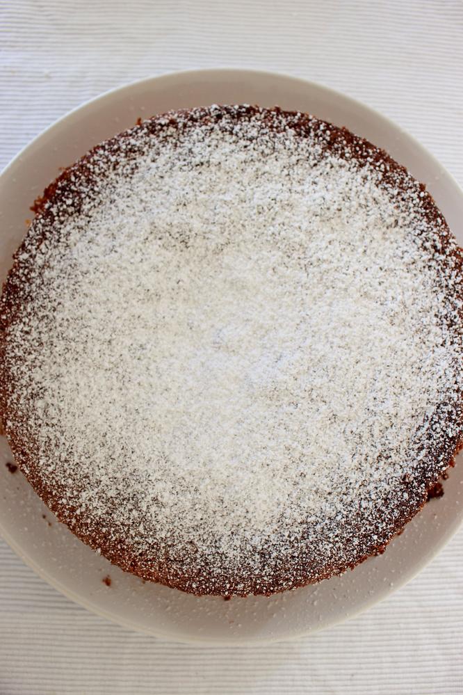 Bild: Rezept Orangenkuchen, Sweet Table für die Taufe dekorieren, gefunden auf Partystories.de