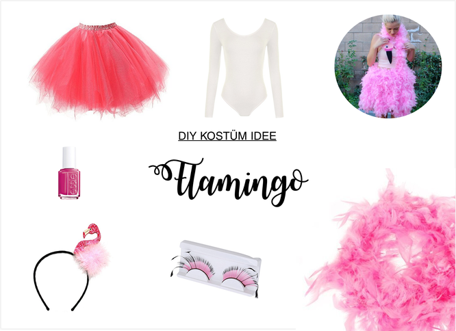 Kostum Als Flamingo Selber Machen Partystories Blog