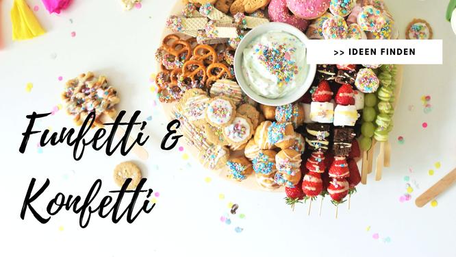 Bild: Startseite Kreativblog DIY Blog Partystories // Funfetti und Konfetti Ideen und Rezepte