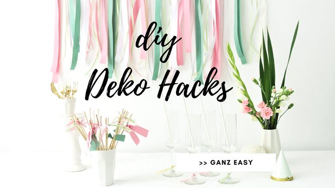 Bild: Startseite Kreativblog DIY Blog Partystories // DIY Deko und Upcycling Ideen basteln