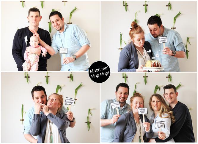 Bild: Foto-Fun an Ostern, Foto-Props als Freebie innklusive, gefunden auf Partystories.de