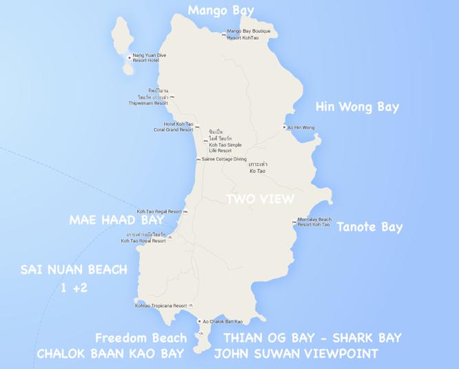 Koh Tao Die Schonsten Strande Schnorchelplatze Und Viewpoints On