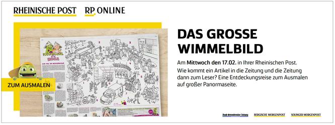Ankündigung Rheinische Post