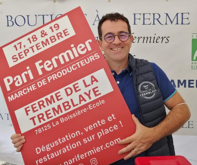 Ferme de la Tremblaye (78) : PARI FERMIER du 17 au 19 septembre 2021 - Gourmandises TV