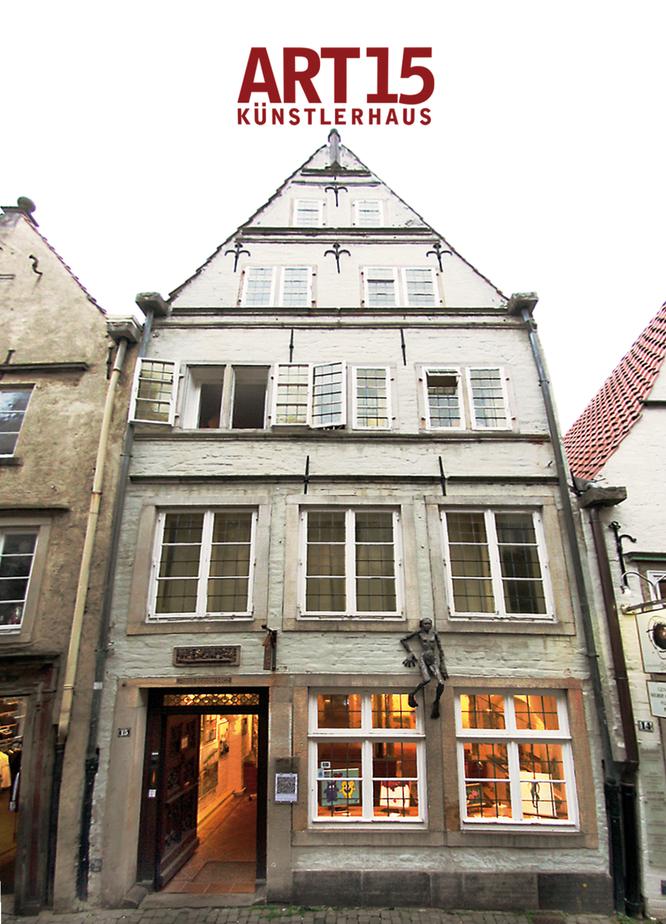 Hier finden Sie uns:  ART15 in der Bremer Altstadt. Schnoor15