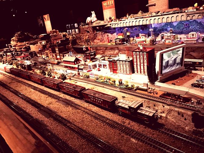 カンサス ユニオン駅 鉄道 模型