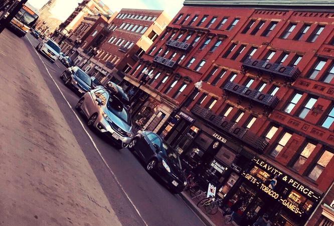 アメリカ ボストン 景色 ハーバード