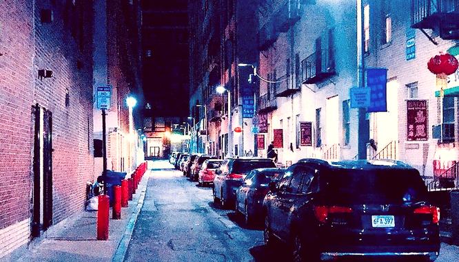ボストン チャイナタウン 路地