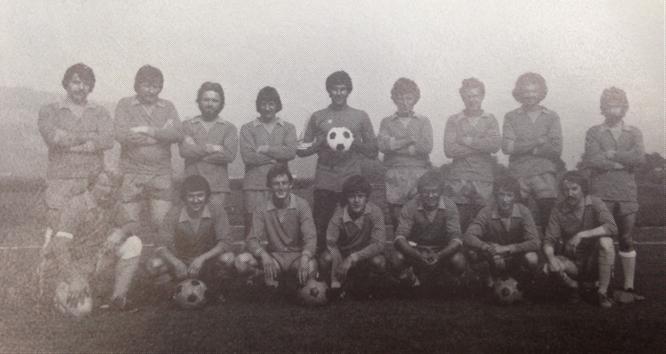 Die Mannschaft des FC EDO Simme im Gründungsjahr, Saison 77/78