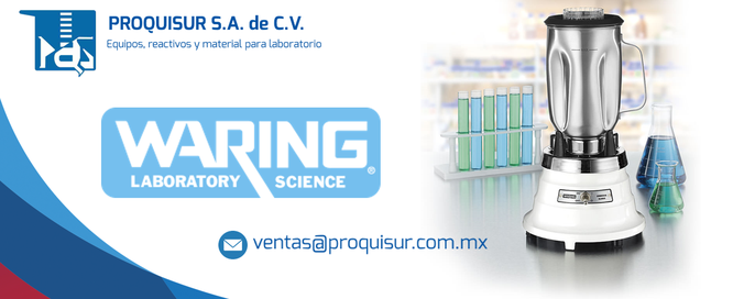Distribuidor / proveedor de la linea / marca en Licuadora industrial / laboratorio WARING en México, CDMX, Área metropolitana.