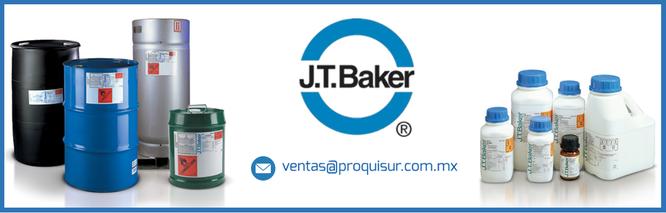 Distribuidor de la linea o marca J.T. BAKER REACTIVOS QUÍMICOS en México