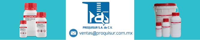 Distribuidor / proveedor de la linea en reactivos SIGMA-ALDRICH en Mexico, CDMX, Area metropolitana.