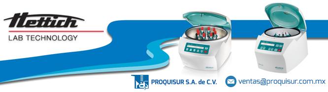 Distribuidor / proveedor de la linea / marca en Centrifugas y microcentrifugas HETTICH LAB TECHNOLOGY en México, CDMX, Ciudad de México, Área metropolitana.