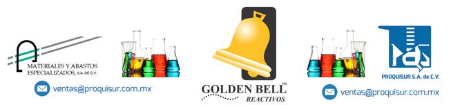 Distribuidor / proveedor de la linea en reactivos GOLDEN BELL REACTIVOS en Mexico, CDMX, Area metropolitana.