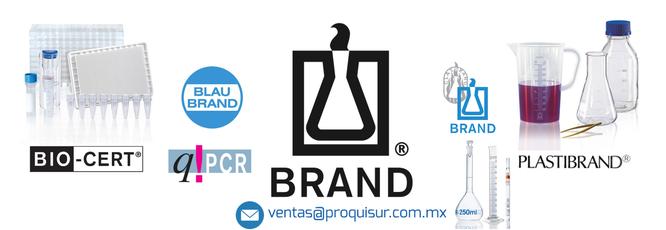 Distribuidor / proveedor de la linea / marca en Material de Laboratorio BRAND en México, CDMX, Área metropolitana.