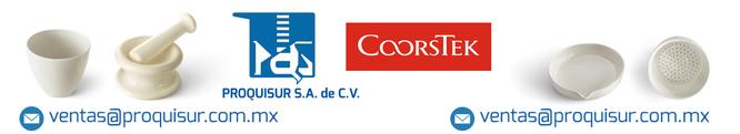 Distribuidor / proveedor de la linea en material de porcelana para laboratorio COORSTEK en Mexico, CDMX, Area metropolitana.