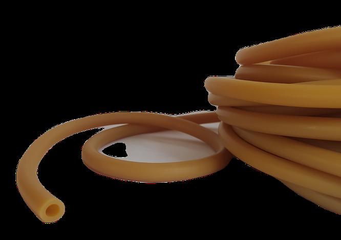 2040 Tubo de hule látex 6.35 de diámetro interno x 2.38 mm de pared. Holy