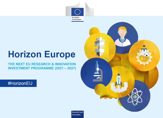 Source: European Comission, Horizon Europe - Investing to shape our future, June 2020
